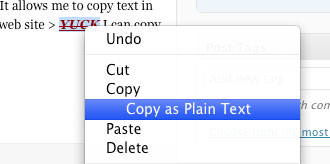 Copy Plain Text Mac Firefox