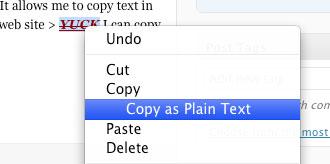 Copy Plain Text Mac Firefox