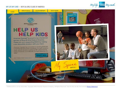 Boys and Girls Club of America by AMEX
