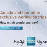 AMEX Travel Auction Canada