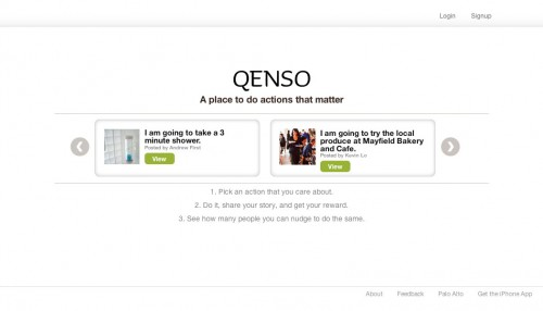 Qenso.com Home Page