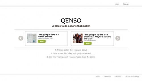 Qenso.com Home Page